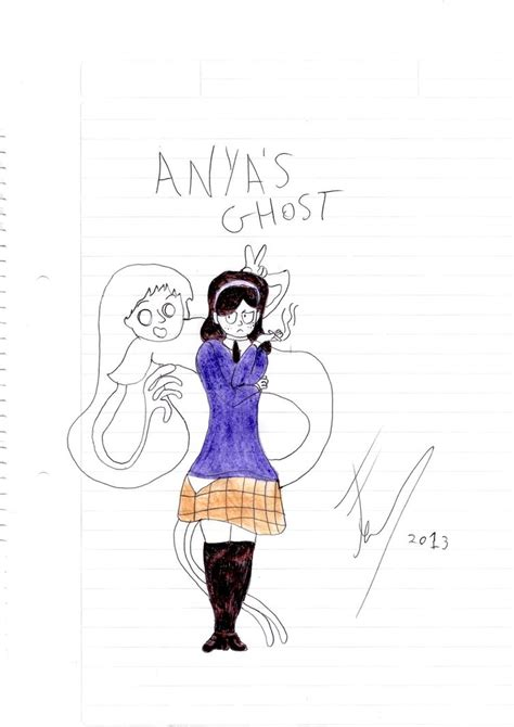 libro anyas ghost anya s ghost by felimaster97 on