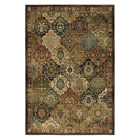 Patchwork Area Rug - mohawk home patchwork medallion multi 5 ft x 7 ft area
