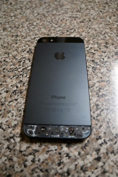 Housing Casing Iphone 5s Like Model Iphone 6 Silver cracked back glass iphone 5 everythingicafe forums