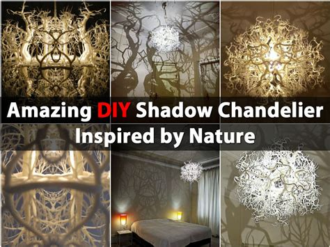 Home Theatre Room Decorating Ideas amazing diy shadow chandelier inspired by nature diy