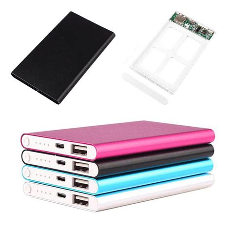 power bank ebay ultrathin 5000mah external battery charger power bank case