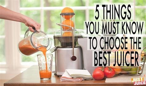 which is the best juicer what is the best juicer for you 5 questions to ask