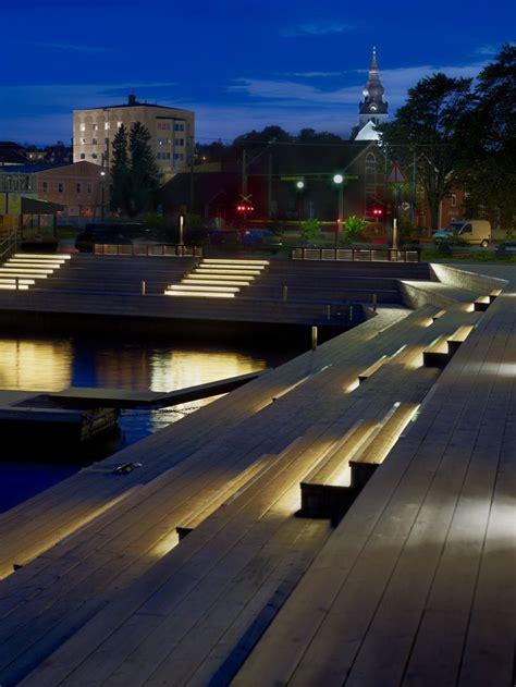 design house stockholm lighting solbryggor i hudiksvall ljusarkitektur ljusdesign
