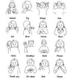 Makaton sign language more makaton signs baby signs sign language