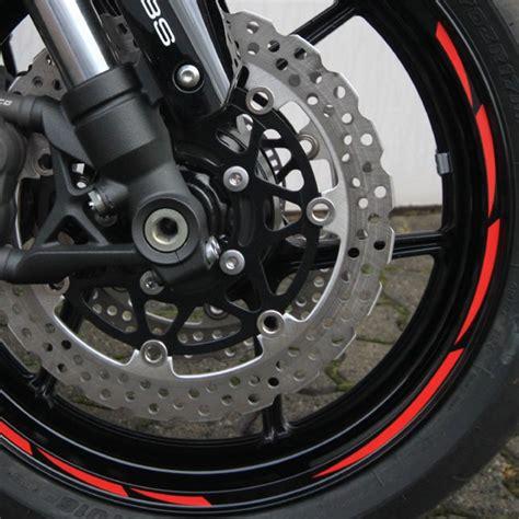 Felgenrandaufkleber Motorrad 17 Zoll Abstand by 500315 Felgenrandaufkleber Motorrad Roller Auto 7mm Orange