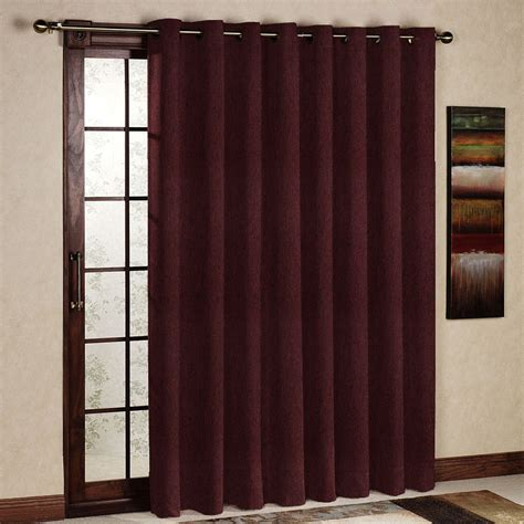Light Block Curtains One Panel Per Pack Ruby Wine Living Room Curtain Light Blocking Insulated Drapery Eyelet Grommet