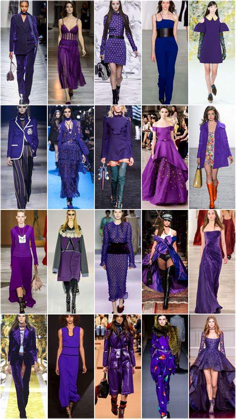 Fashion Find Purple Accessory For Fall 2006 by Translating The Trends For Fall 2016 Purple Majesty Tom