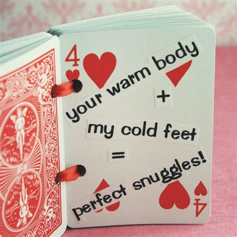 Deck Of Cards Valentines Template by Valentines Day Hearts Quot 52 Reasons