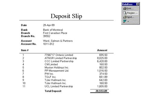 bank of america deposit slip to print autos post printable deposit slips blank sle bank teaching autos