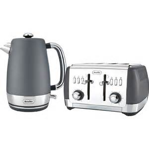 Grey Kettle And Toaster Set Breville Strata Collection Kettle And Toaster Bundle