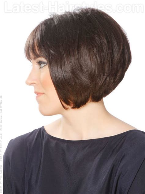 short stacked hairstyles with short sides short bob hairstyle stack layers 1830