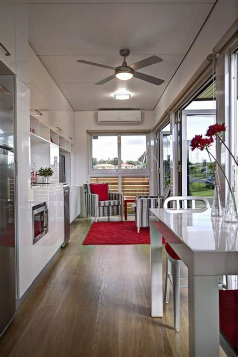 modular shipping container home offers  perfect floor plan
