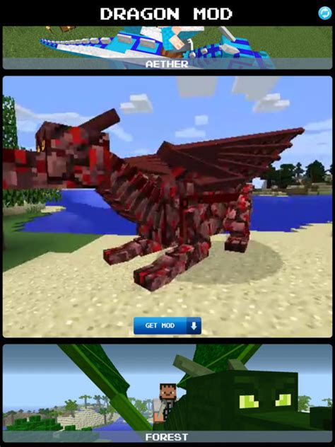 mod game download app app shopper dragons mod for minecraft game pc edition