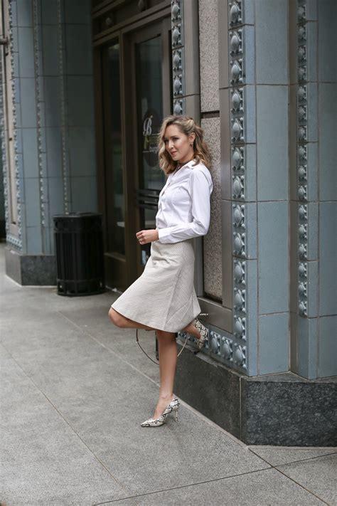 striped a line skirt memorandum nyc fashion
