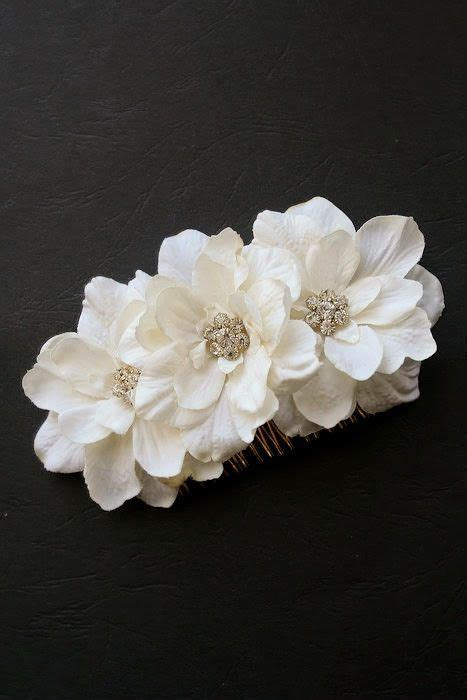 Wedding Flower Hair Comb 25 trending flower hair ideas on flower