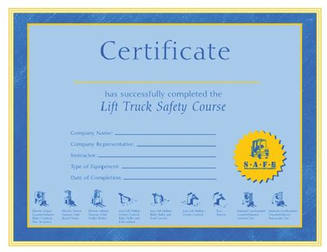 forklift certification certificate pictures to pin on
