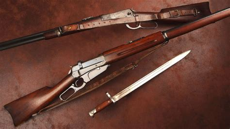 American Rifleman   Winchester Lever Actions Go To War