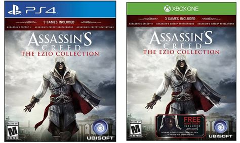 Kaset Ps4 Assassin S Creed The Ezio Collection assassin s creed the ezio collection for ps4 or xbox one groupon