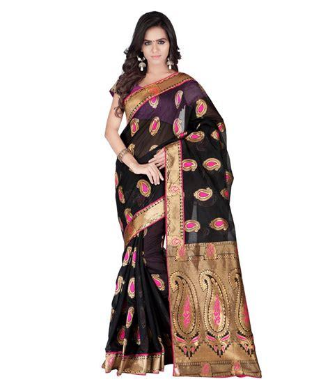 Azara Diskon azara lifestyle black silk saree buy azara lifestyle