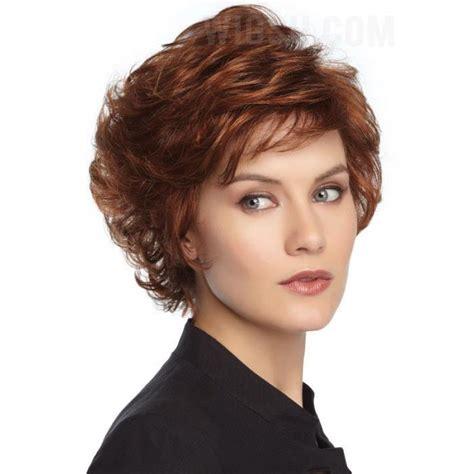 short sassy haircuts curly hair sassy short curly layered haircut synthetic hair
