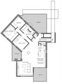 Steep Slope House Plans Concrete Croatian Residence Adorning A Steep Slope Small