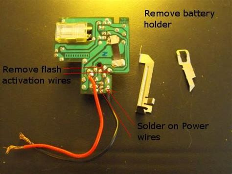 capacitor in disposable flash step by step hacking a disposable flash unit to power a geiger mad scientist hut
