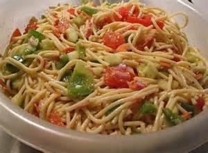 cold pasta dish cold spaghetti salad recipe just a pinch recipes