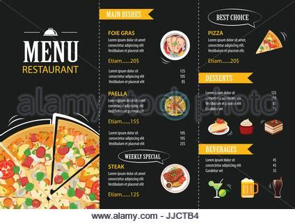 fish and chip shop menu template vector pizza label or poster design template pizza