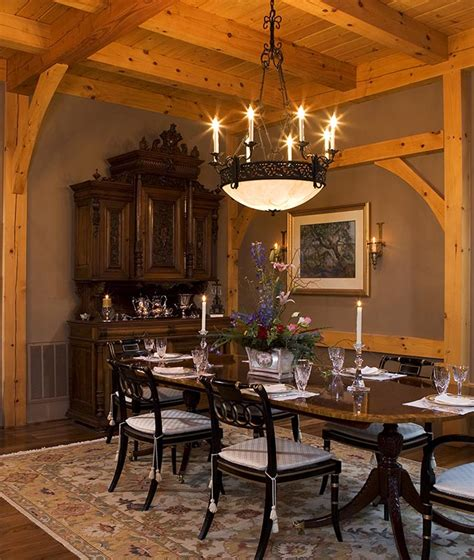 Dining Room Frames by Timber Framed Dining Rooms By Mill Creek