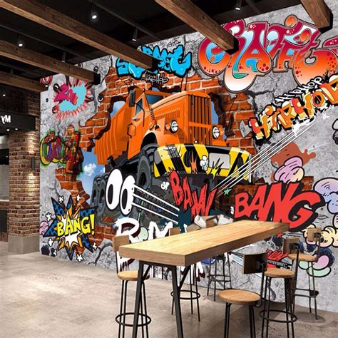 graffiti wallpaper buy online online buy wholesale mural graffiti from china mural