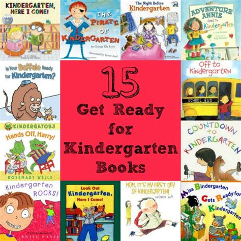 getting books 15 get ready for kindergarten books