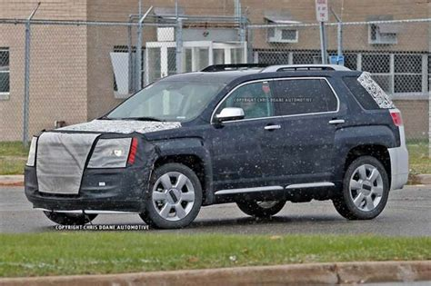 chevy terrain 2016 chevy equinox and gmc terrain spied kelley blue book