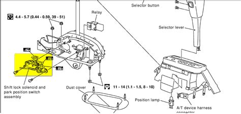 how to replace shift solenoid 1996 nissan maxima schematics and diagrams 2000 nissan maxima will not