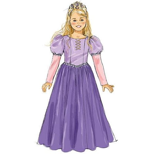 pattern rapunzel dress m6420 mccall s sofia the first sewing projects