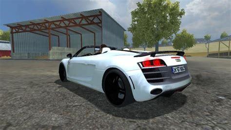Audi R8 Spider v 1.0 ? Farming simulator 2013 Mod Farming Simulator Mods