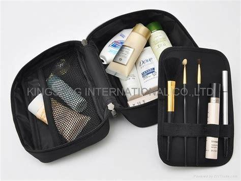 Fashion Bag Jh2011 Colour Black satin travel cosmetic bag fashion style simple design