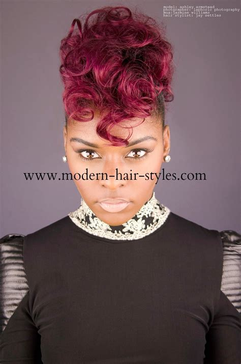 27 pc black hair styles mohawk mohawk hairstyles with 27 piece hairstyles by unixcode
