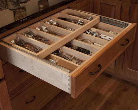 Kitchen Drawers Design | kitchen silverware drawer beautiful homes design