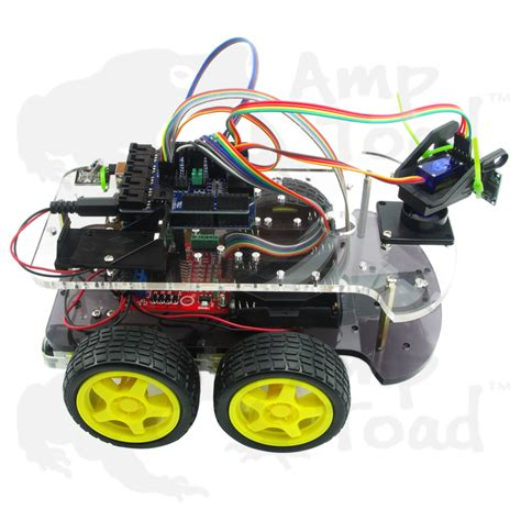4wd smart car 4wd arduino smart car robot learning starter kit smart