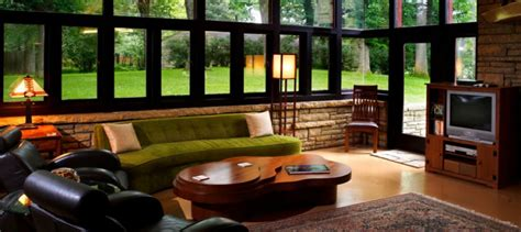 Livingroom Pc nine frank lloyd wright homes available for rent