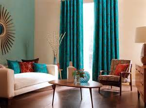 Turquoise Curtains Living Room Turquoise Curtains For Living Room Looks Better When The