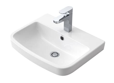 Inset Vanity Basins by Urbane Inset Vanity Basin 1th White Cooks Plumbing