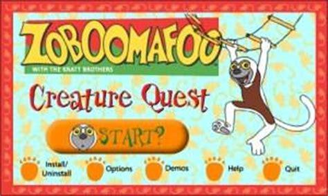 pbs pattern quest zoboomafoo creature quest pc review www impulsegamer com