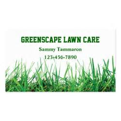 lawn care business card templates lawn care and landscaping zazzle