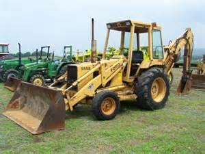 Ford 555b 43 Ford 555b Tractor Loader Backhoe Erops Lot 43