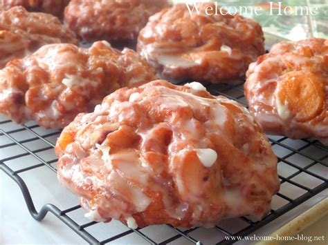apple fritters welcome home blog warm apple fritters