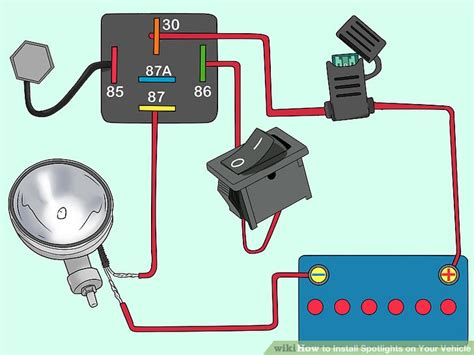spotlight wiring diagram 24 wiring diagram images