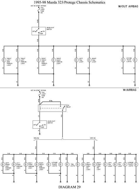 wiring diagram mazda 323 astina image collections wiring