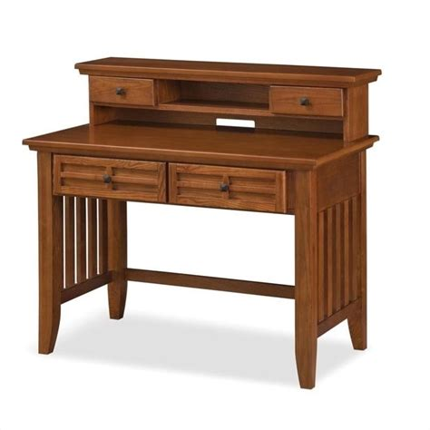 student desk hutch in cottage oak 5180 162
