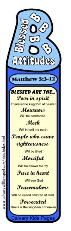 printable beatitudes bookmarks 17 images about bible lesson the beatitudes on pinterest